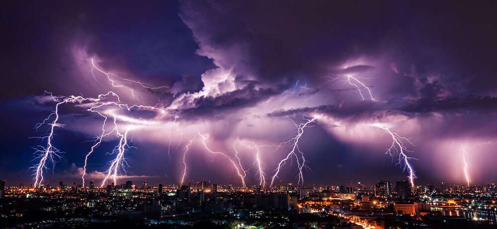 Lightning and earthing